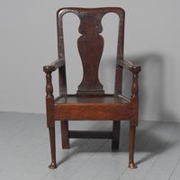 George II Oak Armchair (2 of 9)