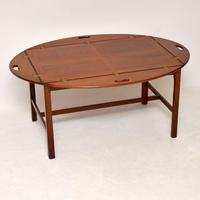 Antique Mahogany Butlers Tray Coffee Table (3 of 10)