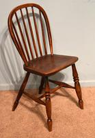 Victorian Ash & Elm Kitchen Dining Chairs (6 of 6)