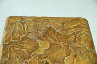 Liberty Carved Japanese Side Table (10 of 12)