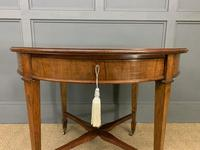 Edwardian Walnut Oval Occasional Table (10 of 13)