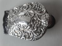1903 Birmingham Large HM Silver Desk Paper Clip (5 of 6)