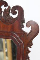 Small Georgian Mahogany Fretwork Mirror (11 of 13)