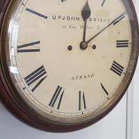 Double Fusee Wall Clock C1860 (6 of 9)