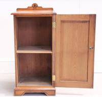 19th Century Pitch Pine Bedside Cabinet (11 of 13)