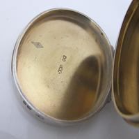 Impressive Victorian silver table snuff box Henry William Dee London 1877 (5 of 13)