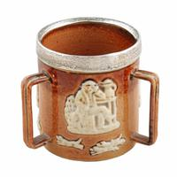 Doulton Lambeth Miniature Loving Cup (2 of 7)