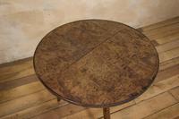 George III Burr Elm & Oak Primitive Cricket Table (3 of 10)