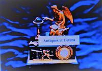 Excellent Vintage Gilt Blue Enamel Necklace & Bracelet Boxed Set  - Ideal Gift / Present (6 of 7)