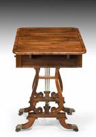 Regency Period Rosewood Table of Small Proportions (3 of 5)
