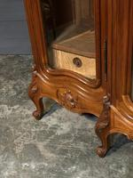 Wonderful French Walnut Bookcase or Cabinet (3 of 25)