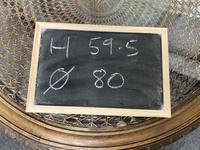 Round Walnut Coffee Table (9 of 9)