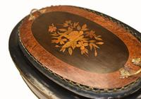 French Side Table Stand Marquetry Inlay c.1880 (4 of 13)