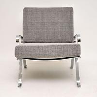 1960's Chrome Vintage Armchair (4 of 9)