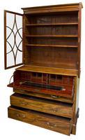 Geo III Mahogany Secretaire Bookcase (3 of 10)