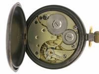 Omega Gunmetal Open Face Pocket Watch  Swiss 1900 (5 of 5)