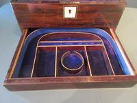 Superb Victorian Rosewood Fitted Jewellery Box (3 of 9)