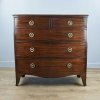 Superb Georgian Mahogany Bow Front Chest of Drawers (2 of 4)