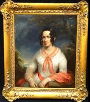Sir Thomas Lawrence Studio Oil Portrait Painting of A Lady (13 of 13)