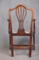 18th Century Mahogany Hepplewhite Armchair (3 of 10)