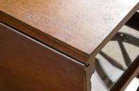 Vintage Mahogany Tea Trolley with Drop Down Flaps (6 of 7)