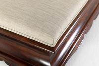 English Regency Rosewood Ottoman (7 of 7)