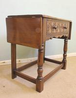 Single Drawer Oak Side Table (3 of 9)