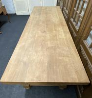Rare Huge Oak French Farmhouse Dining Table (9 of 18)
