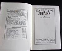 1925 1st Edition. Carry on Jeeves by P G Wodehouse (2 of 3)