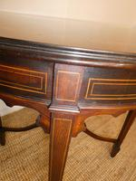 Edwardian Inlaid Round Side Table (3 of 7)