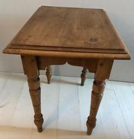 Small Turned Leg Side Table (4 of 5)