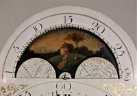 Early Late 18th / Early 19th Century Moon Dial Longcase Grandfather Clock (9 of 10)