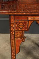Pair of Damascus Syrian Moorish Inlaid Armchairs (11 of 17)