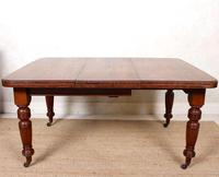Oak Dining Table 6 Seater Victorian Wild Golden Oak 19th Century Solid (12 of 16)