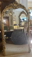 Very Large Arched Mirror with Scrolling Flowers (5 of 9)