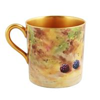 Royal Worcester Fruit Cup Saucer & Plate (7 of 9)