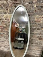 1960's Oval Mirror