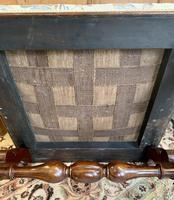 Victorian Mahogany X-Frame Stool (2 of 15)