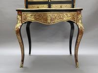 French 19th Century Boulle Dressing Table (3 of 12)