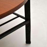 1960's Vintage Teak & Steel Coffee Table (8 of 8)