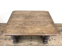 Early 20th Century Antique Oak Coffee Table (6 of 12)