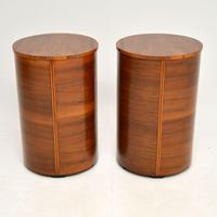 Pair of Art Deco Walnut Bedside Chests (11 of 13)