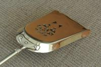 Quality Antique Adam Style Brass Fire Irons Companion Set Tongs Poker Shovel (6 of 9)