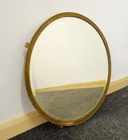 Edwardian Brasscrafter circular mirror (3 of 8)