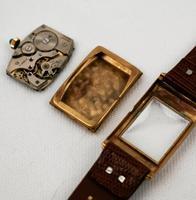 Art Deco 9ct Gold Case Gentlemen's Watch (5 of 5)