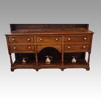 Antique Oak Shropshire Dresser (7 of 7)