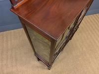 Carved Mahogany Display Cabinet (4 of 14)