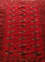 Vintage Handmade Persian Turkoman Rug (3 of 12)