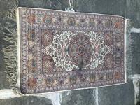 Antique Mughal Kashmir Wool Carpet (7 of 8)