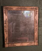 Empire Period Distressed Painted Foxed Plate Mirror (5 of 10)